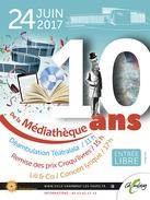 Les 10 ans de la Médiathèque # Chambray lès Tours @ Médiathèque | Chambray-lès-Tours | Centre-Val de Loire | France