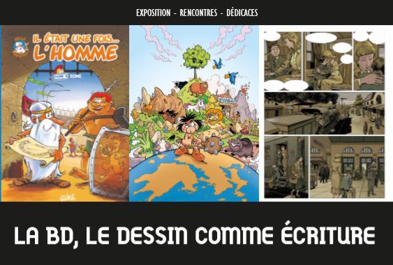La BD, le dessin comme écriture # Chambray lès Tours @ Médiathèque