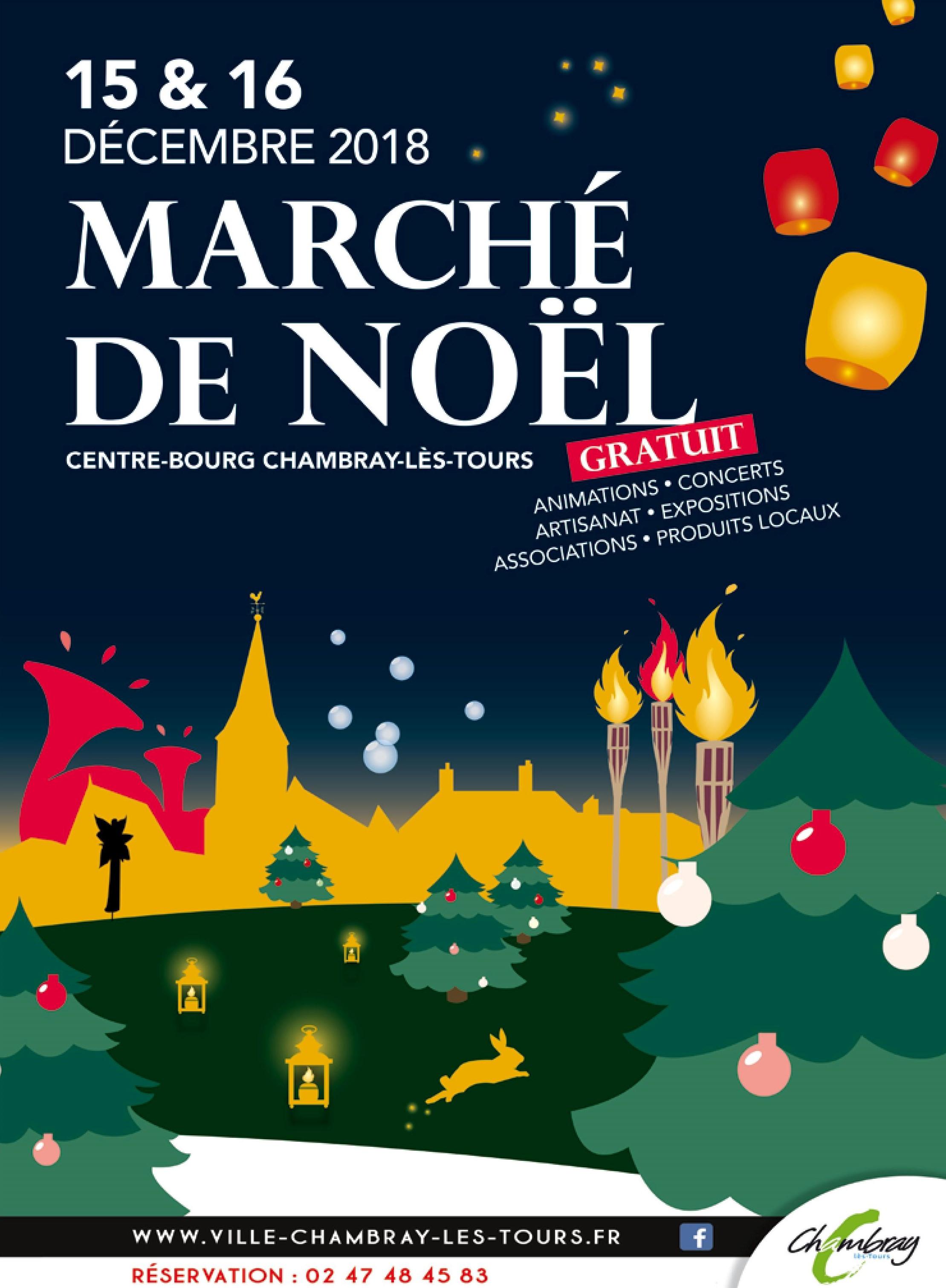 Marché de Noël  # Chambray lès Tours @ Chambray-lès-Tours | Centre-Val de Loire | France
