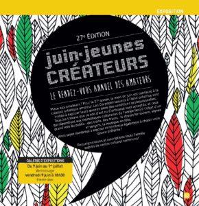 Juin – jeunes CREATEURS  # Saint Pierre des Corps @ Galerie d'exposition Chabrier | Saint-Pierre-des-Corps | Centre-Val de Loire | France
