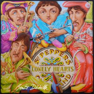 Benoit Déchelle : Beatles Bord Cadre…. # Saint Pierre des Corps @ Galerie d'exposition Chabrier | Saint-Pierre-des-Corps | Centre-Val de Loire | France