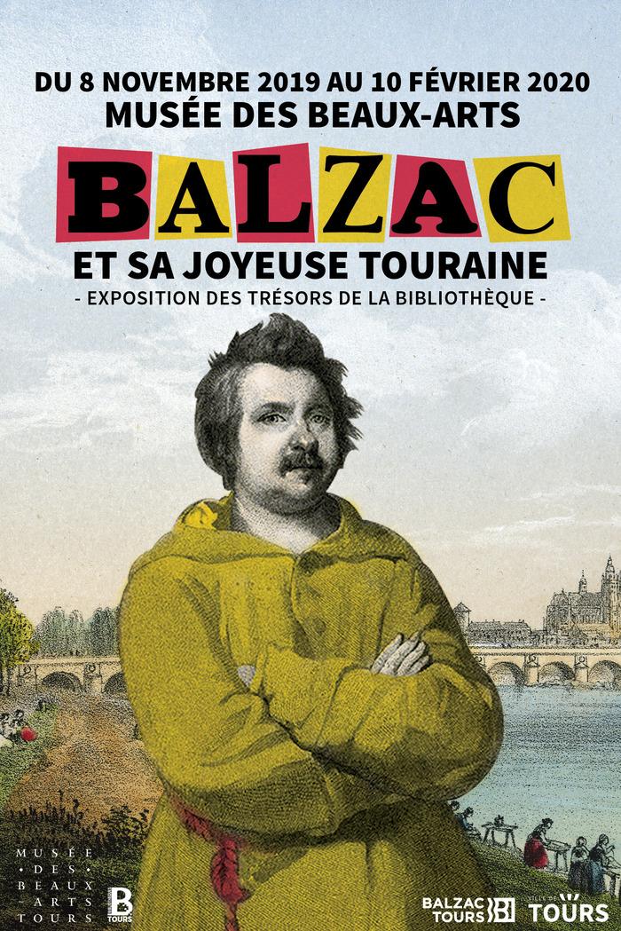 Balzac et sa joyeuse Touraine # Tours @ musée des Beaux-Arts | Tours | Centre-Val de Loire | France