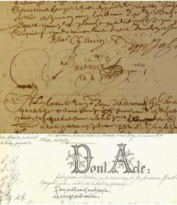 Les Samedis des Archives :  Mener une recherche dans les minutes notariales # Tours @ Centre des Archives historiques | Tours | Centre-Val de Loire | France