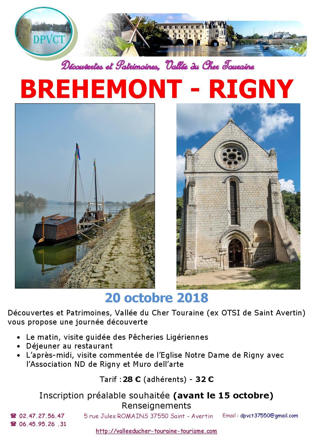 Journée Découverte : Bréhémont - Rigny Ussé @ Richelieu | Centre-Val de Loire | France