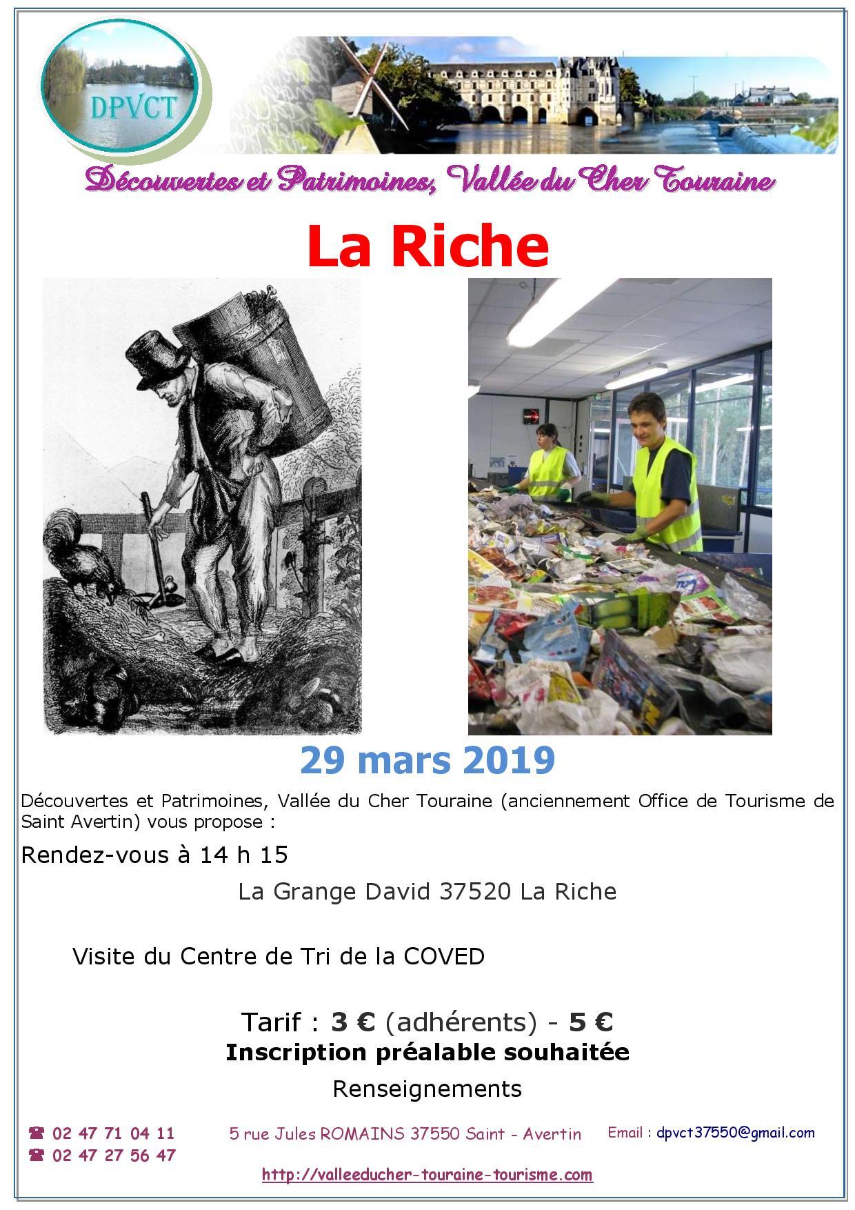 Visite Découverte La Riche @ Centre de Tri | La Riche | Centre-Val de Loire | France