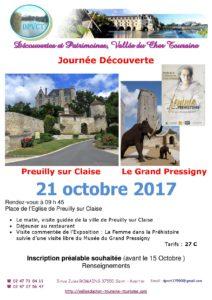 Journée Découverte Preuilly - Le Grand Pressigny @ Eglise | Preuilly-sur-Claise | Centre-Val de Loire | France