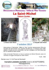 La Saint-Michel : Trésors Cachés … # Saint Avertin @ Place de Steinbach | Saint-Avertin | Centre-Val de Loire | France
