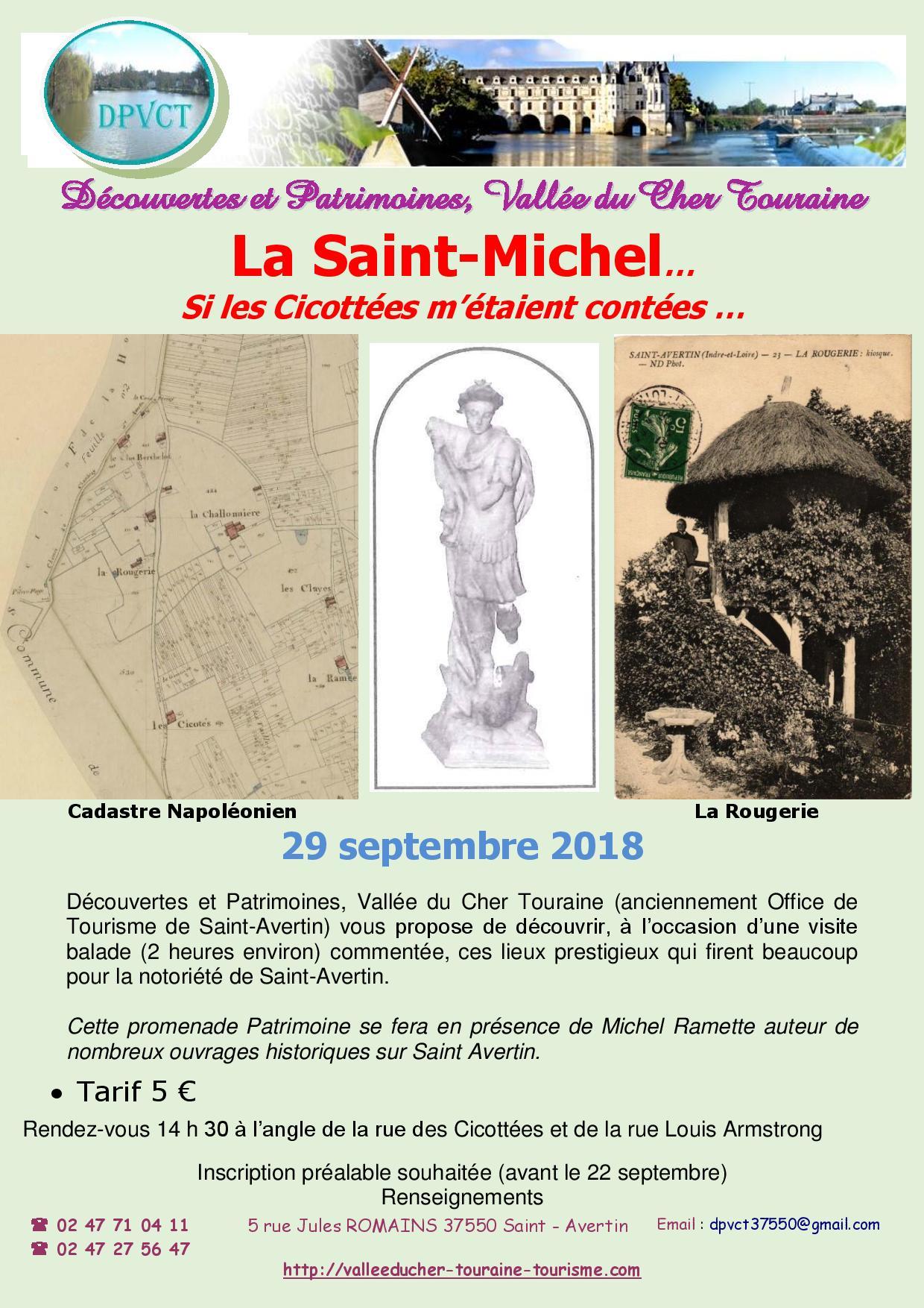 La Saint-Michel : Si les Cicottées m'étaient contées … # Saint Avertin @ à l'angle de la rue des Cicottées et de la rue Louis Armstrong | Saint-Avertin | Centre-Val de Loire | France