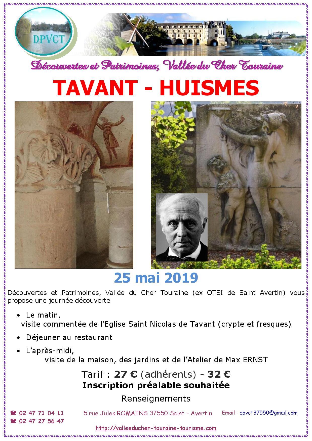 Journée Découverte Tavant - Huismes @ Eglise de Tavant | Richelieu | Centre-Val de Loire | France