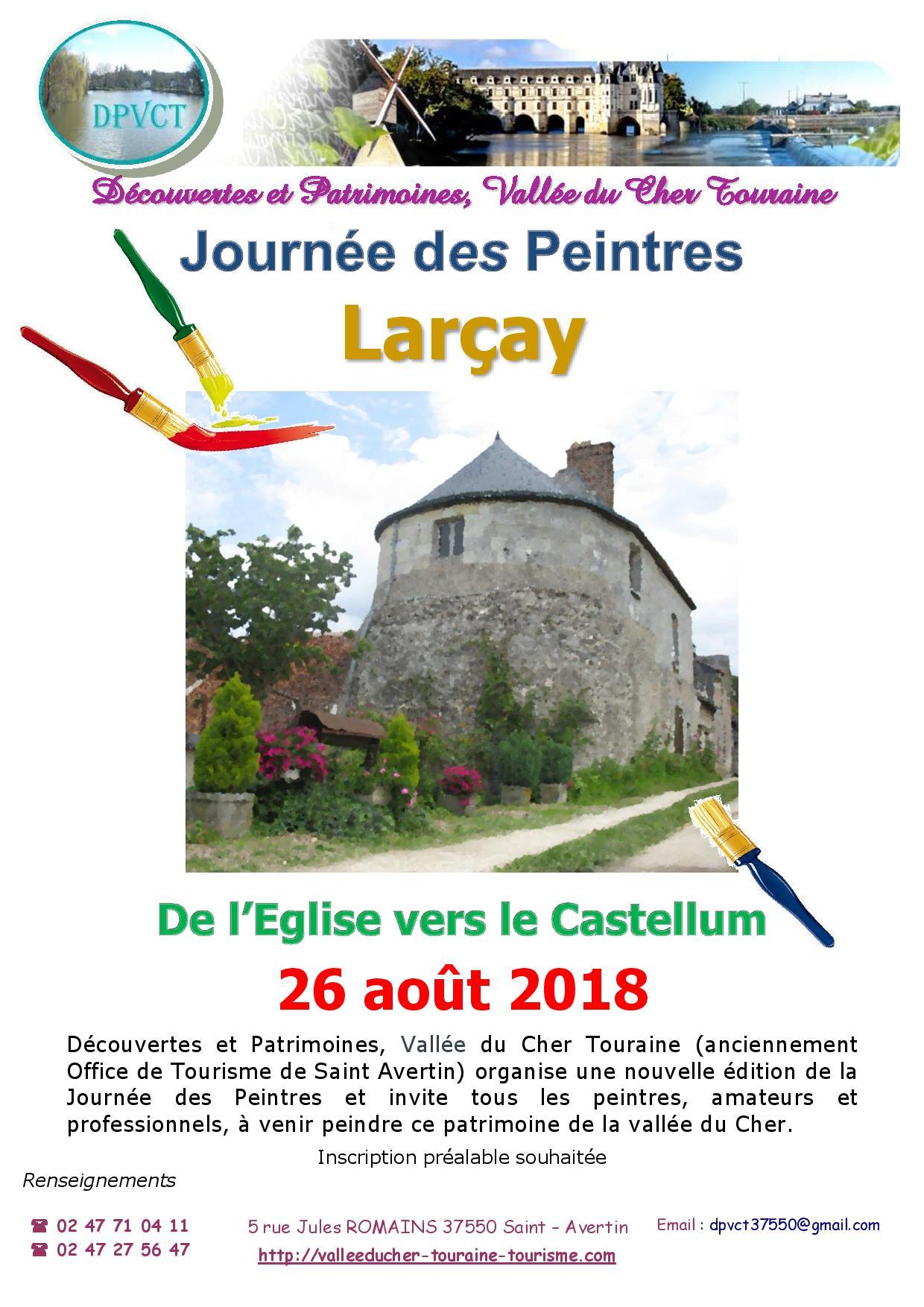 Journée des Peintres # Larçay @ Larçay | Centre-Val de Loire | France