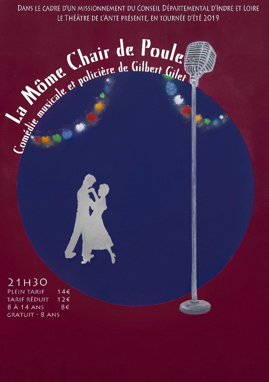 La Môme Chair de Poule # Saint Pierre des Corps – Chambray lès Tours – Tours …..