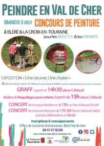 Peindre en Val de Cher # Bléré et la Croix en Touraine @ Bléré | Centre-Val de Loire | France