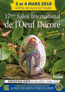 17 ème Salon de l'Oeuf décoré # Tours @ Salle des Fêtes de l'Hôtel de Ville | Tours | Centre-Val de Loire | France
