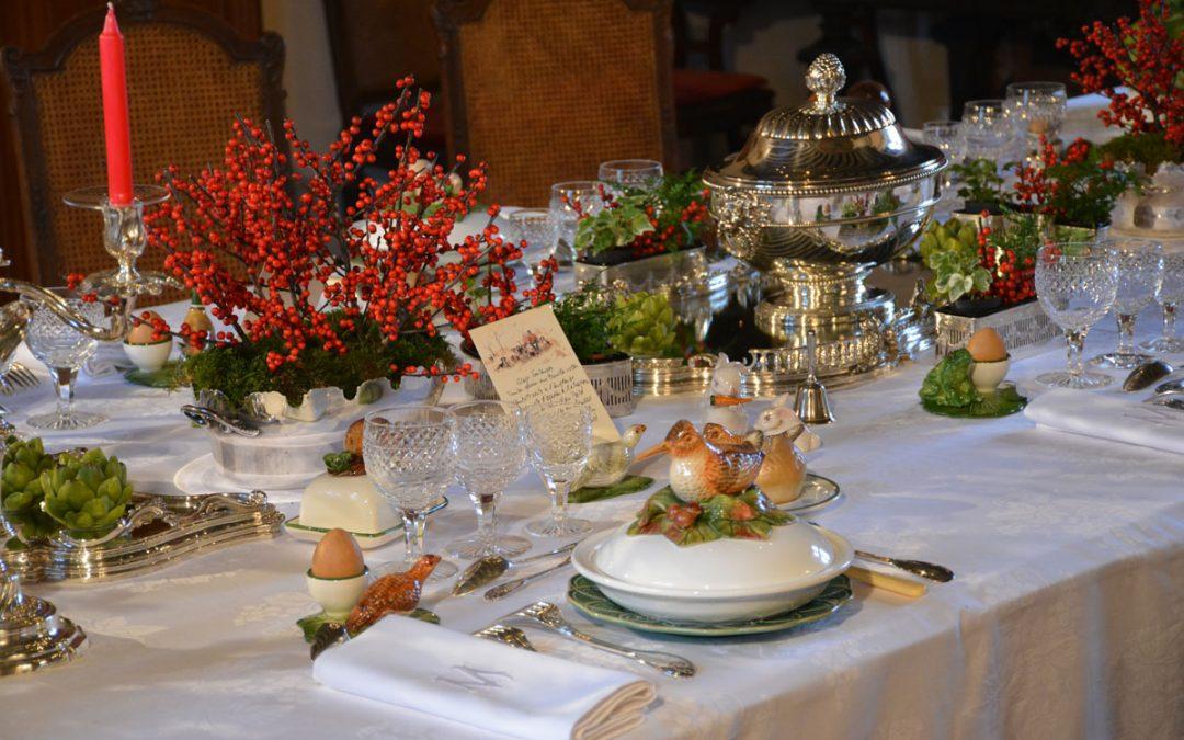 L'art de la Table à la Française # Montpoupon @ Chateau de Montpoupon | Céré-la-Ronde | Centre-Val de Loire | France