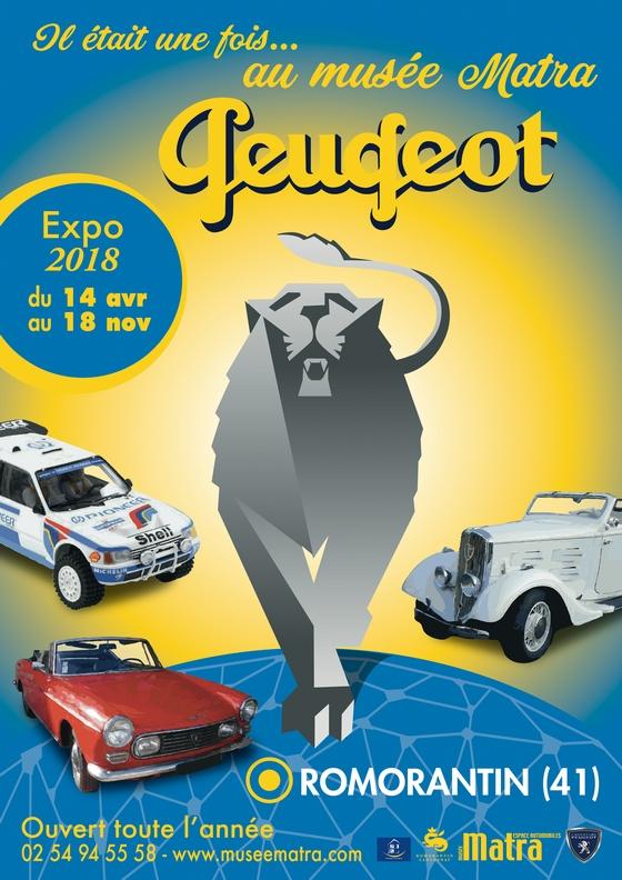 Il était une fois au Musée Matra : Peugeot # Romorantin @ Musée Matra | Romorantin-Lanthenay | Centre-Val de Loire | France