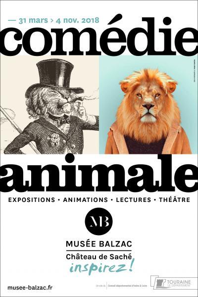 Comédie Animale # Saché @ Musée Balzac | Saché | Centre-Val de Loire | France