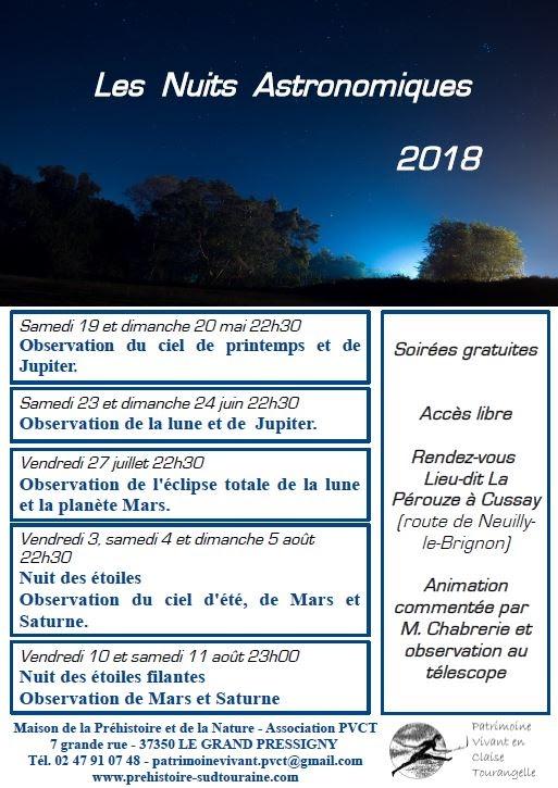 Les Nuits Astronomiques 2018 # Cussay @ La Pérouze | Cussay | Centre-Val de Loire | France