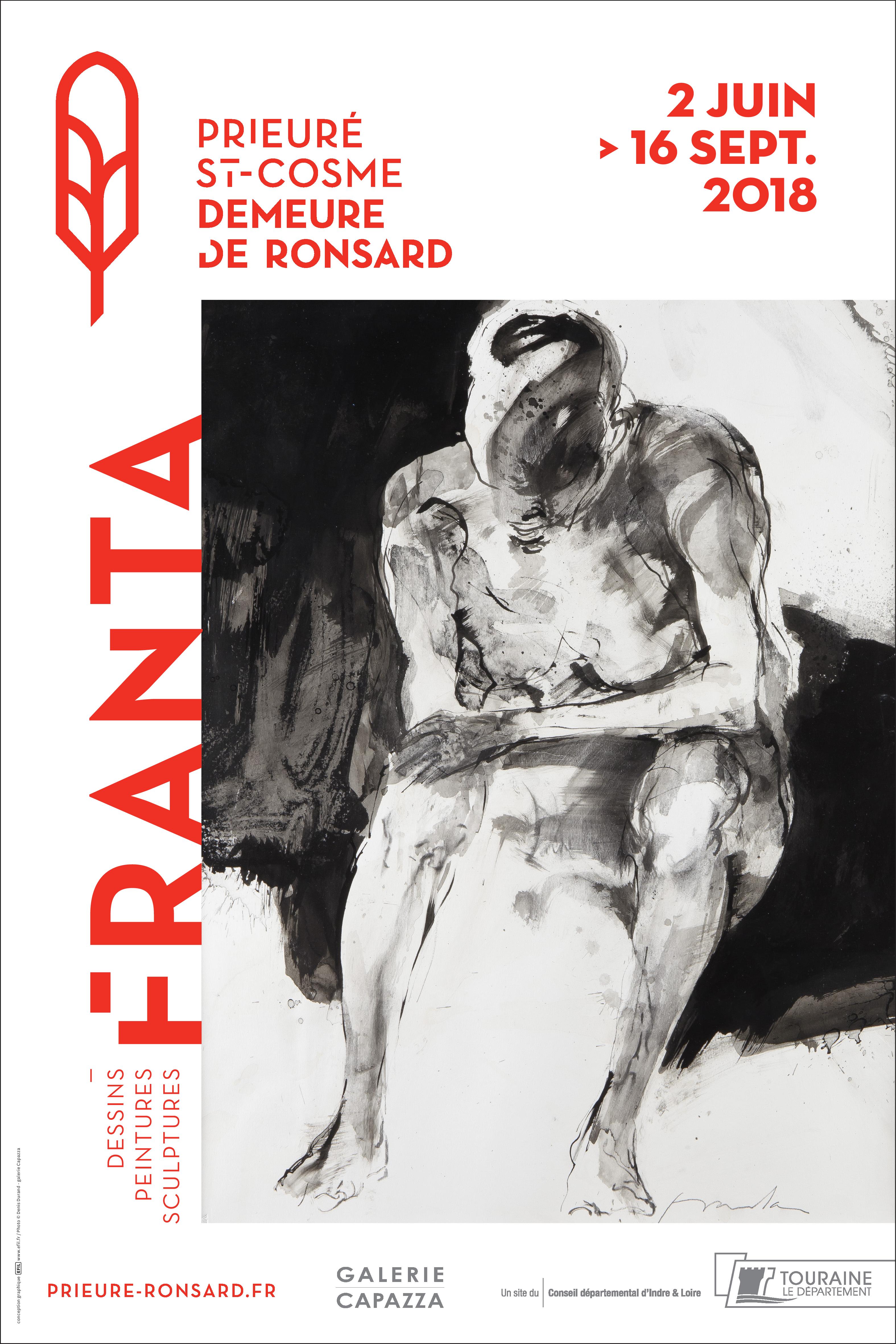 Exposition D'homme à hommes - Franta # La Riche @ Prieuré Saint-Cosme | La Riche | Centre-Val de Loire | France