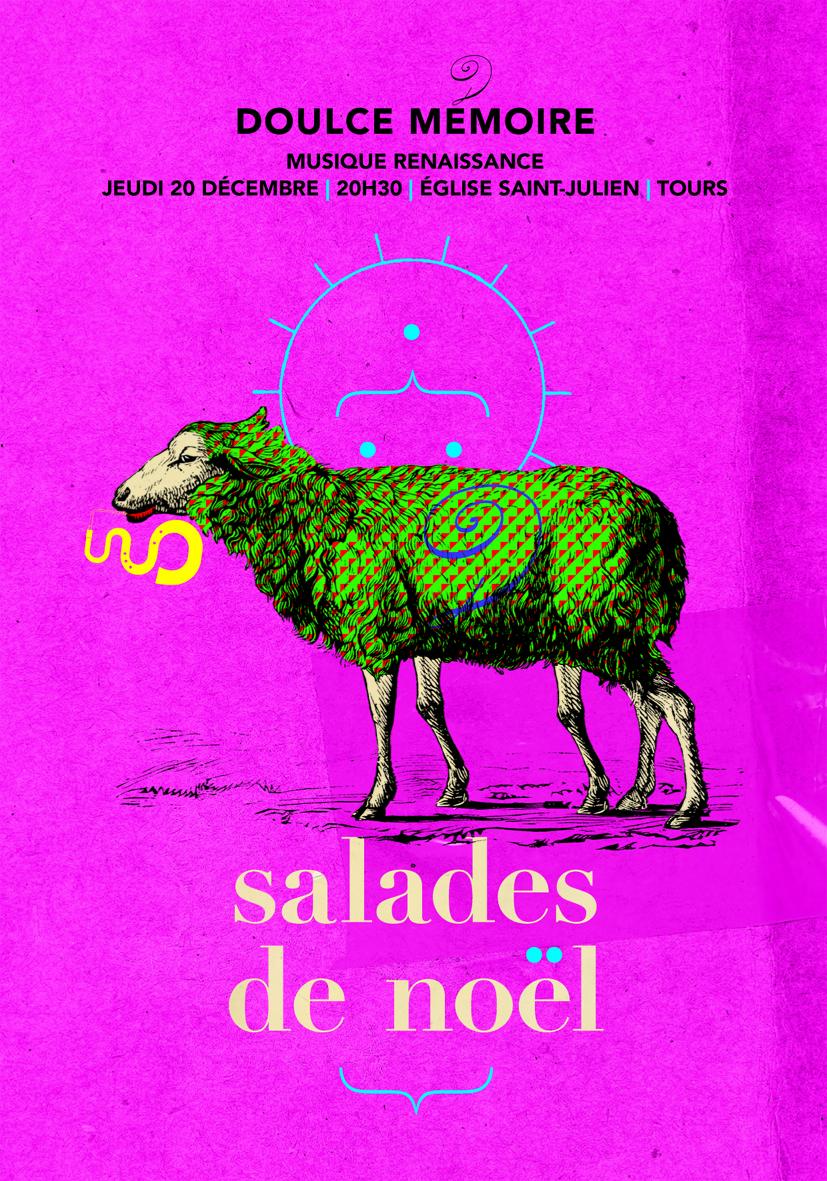 """"""" Salades de Noël """" # Tours @ Eglise Saint Julien"""