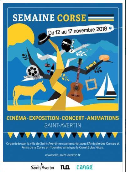 Semaine culturelle Corse # Saint - Avertin