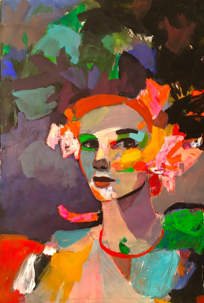 Temps des Reines -Terre sacrée # Tours @ Galerie Olivier Rousseau
