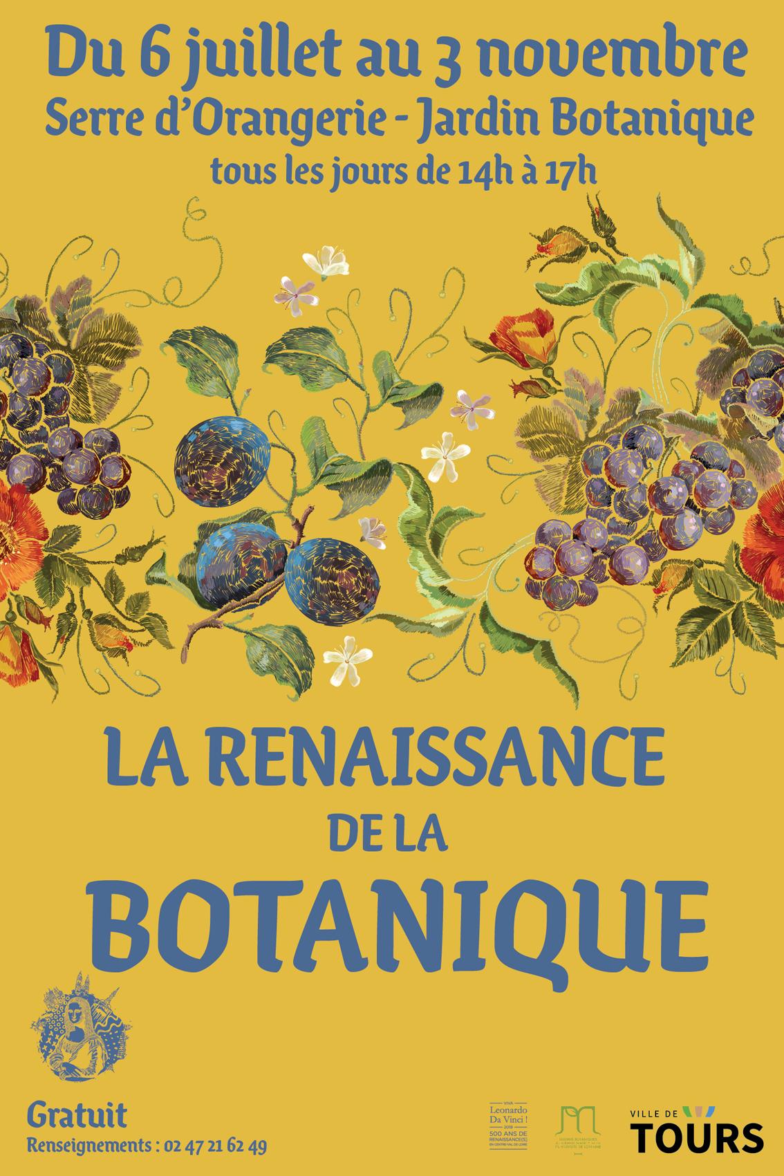 La renaissance de la Botanique # Tours @ Jardin botanique