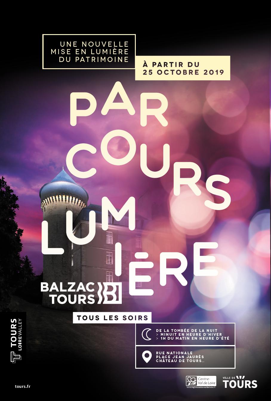 Parcours Lumière « Balzac » # Tours