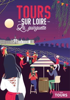 Tours sur Loire # Tours @ Guinguette | Tours | Centre-Val de Loire | France