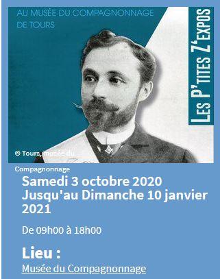 Les P'tites Z'expos : Alphonse Fardin, compagnon-poète # Tours @ Musée du Compagnonnage | Tours | Centre-Val de Loire | France