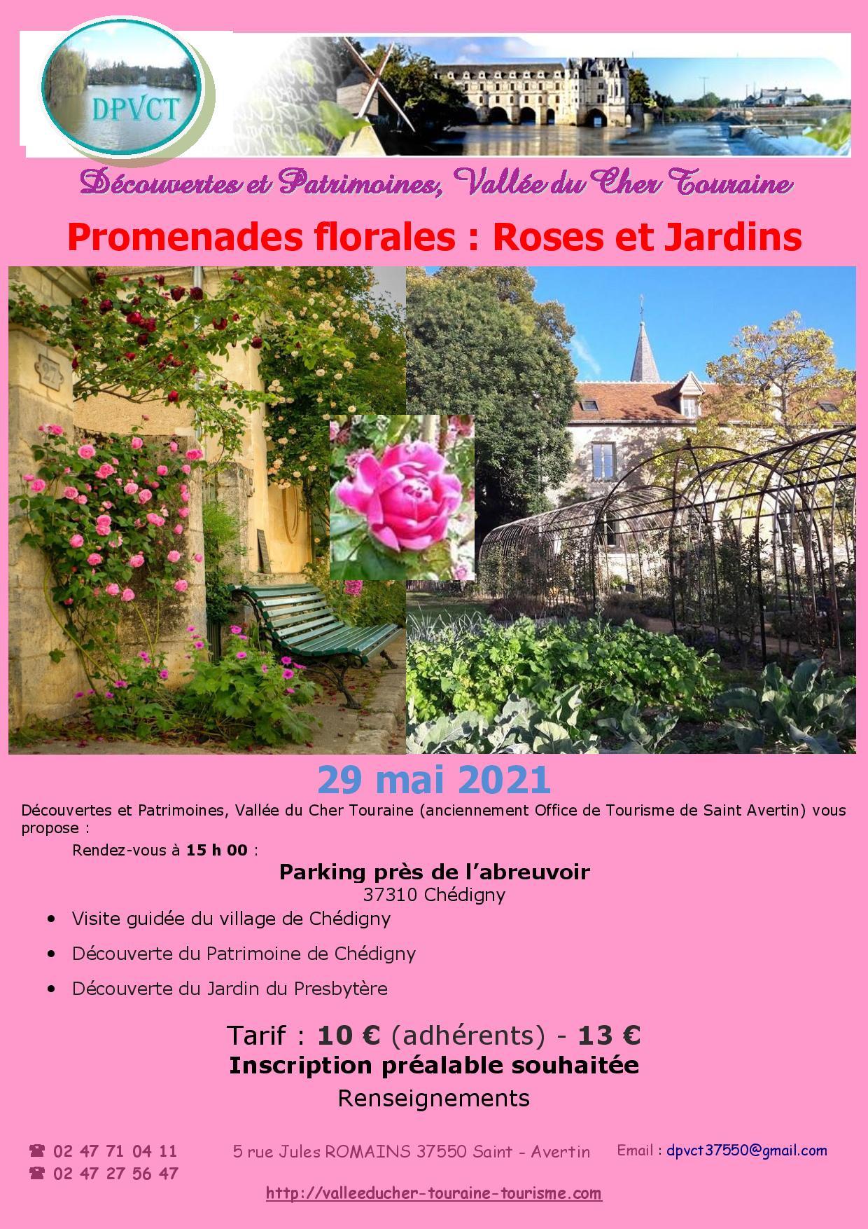 Promenades florales : Roses et Jardins # Chédigny @ Richelieu | Centre-Val de Loire | France