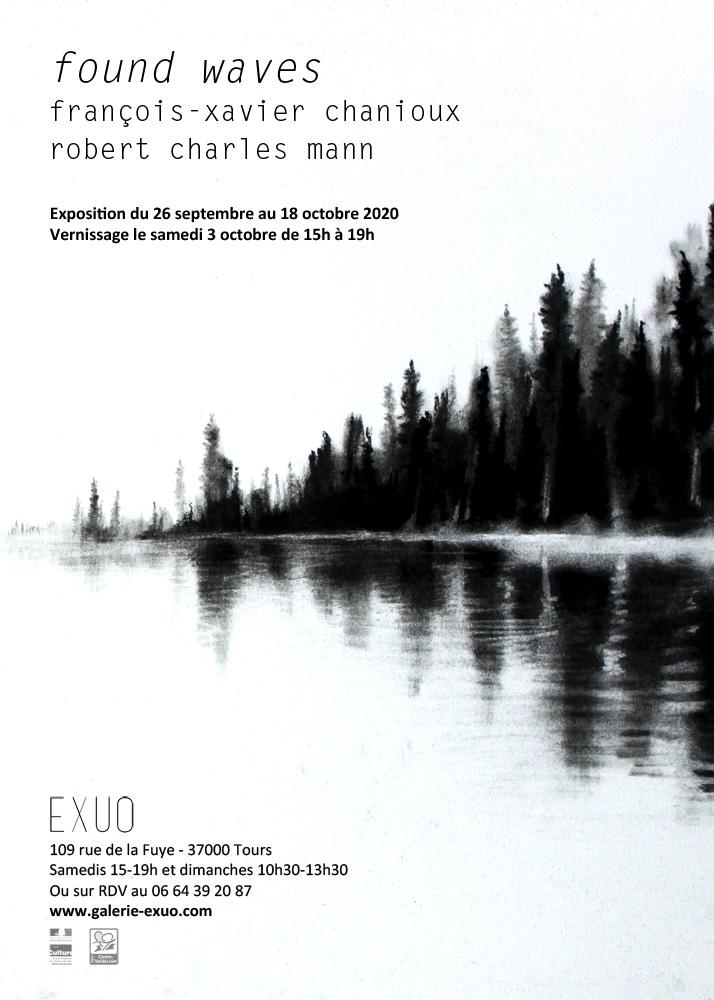 Found Waves de François-Xavier Chanioux et Robert Charles Mann # Tours @ Galerie EXUO | Tours | Centre-Val de Loire | France