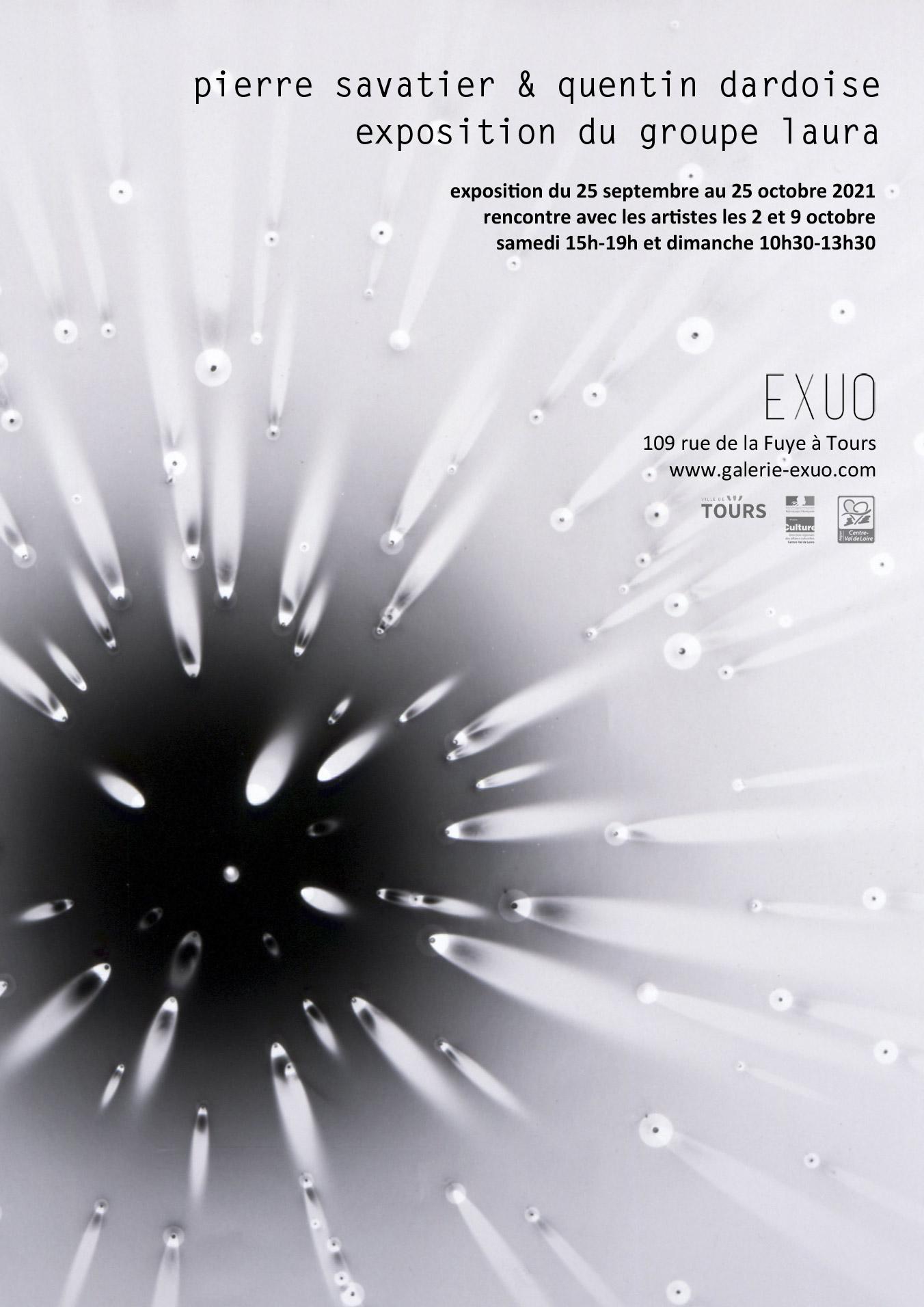 Exposition Pierre Savatier & Quentin Dardoise # Tours @ Galerie EXUO | Tours | Centre-Val de Loire | France