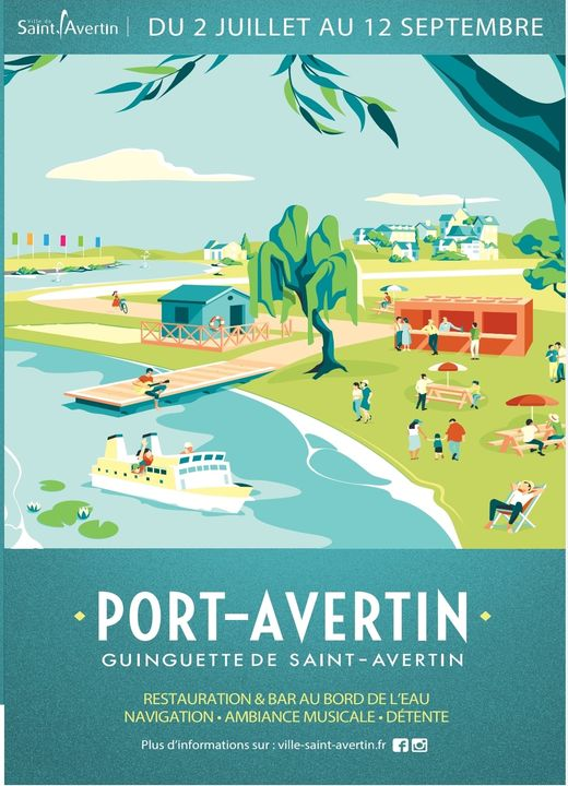 Port Avertin - Guinguette la Nouvelle # Saint - Avertin @ Port Avertin | Saint-Avertin | Centre-Val de Loire | France