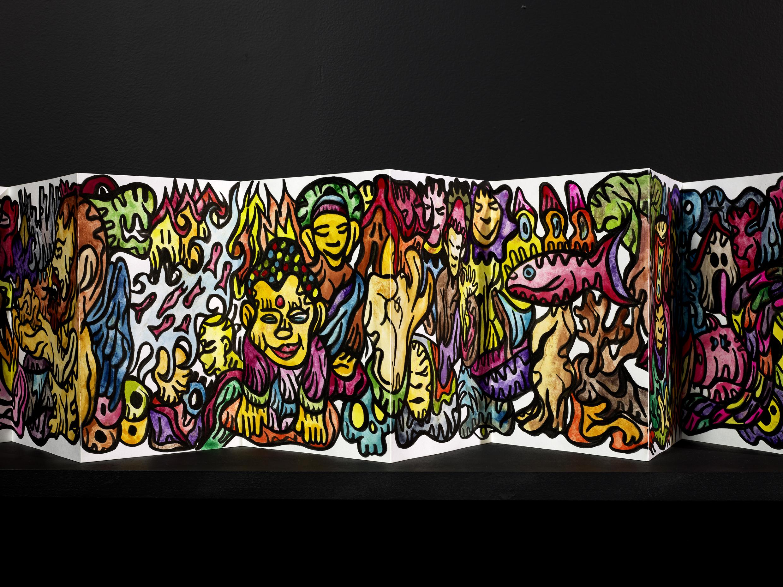 la géographie du totem de Fabien Verschaere # Tours @ Centre de Création Contemporaine Olivier Debré | Tours | Centre-Val de Loire | France