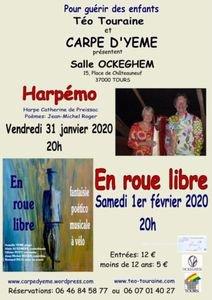 Harpémo # Tours @ Salle Jean de Ockeghem | Tours | Centre-Val de Loire | France