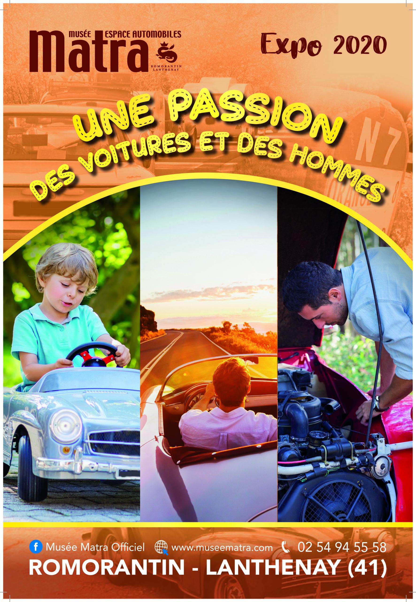 Une Passion, des voitures et des hommes # Romorantin - Lanthenay @ Musée Matra