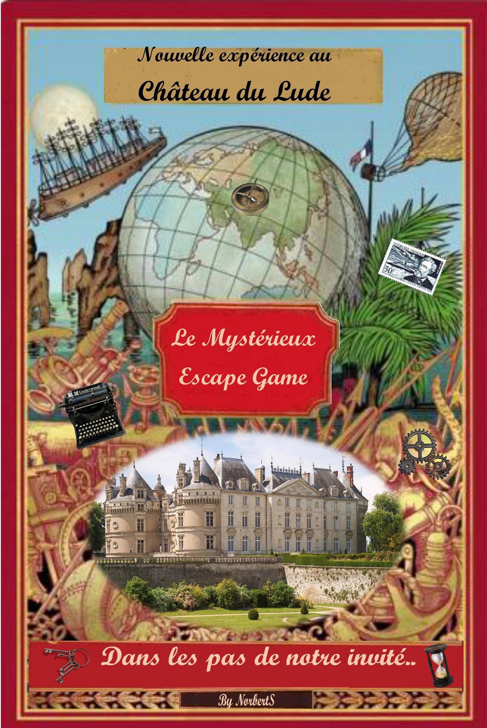 Dans les pas de notre invité - Escape Game # Le Lude @ Château du Lude
