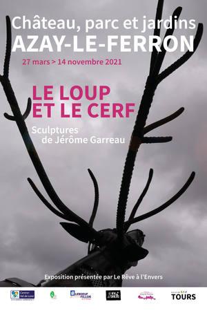 Le Loup et le Cerf # Azay-le-Ferron @ Château, parc et jardins d'Azay-le-Ferron
